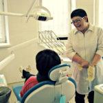 На фото - стоматолог Нина Титченко